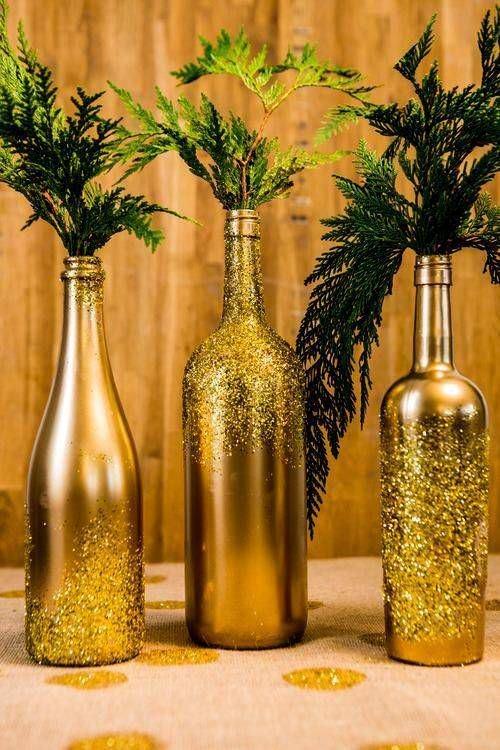 garrafas de natal