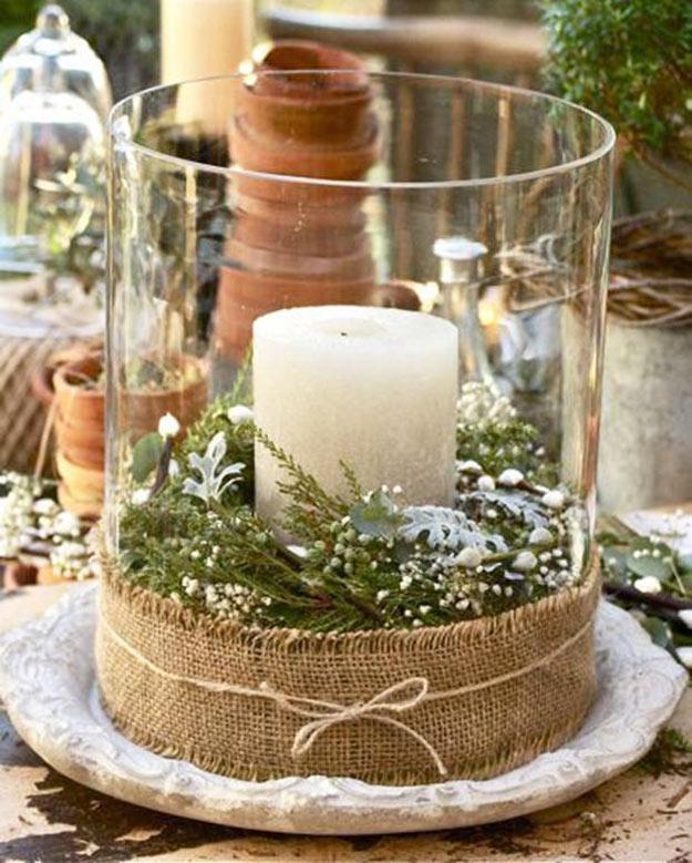 vela decorativa de natal
