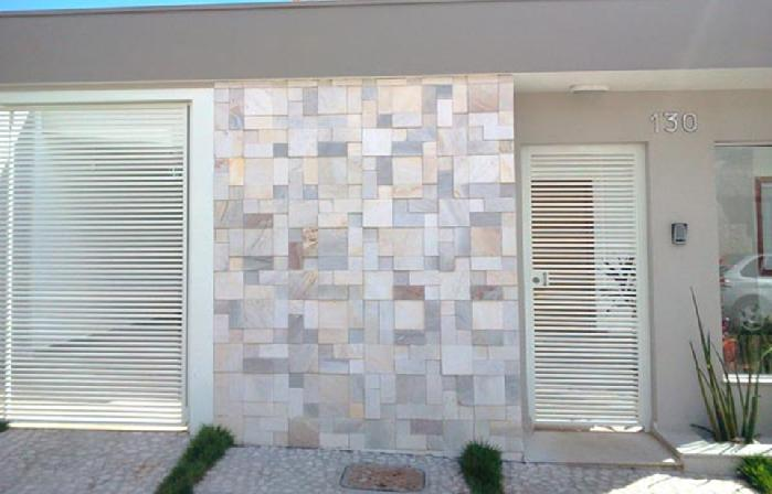 muros de casas