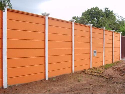 muros de casas pintado