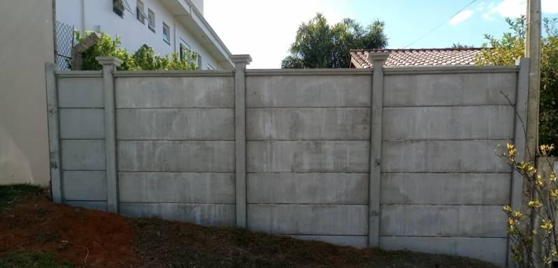 muros de casas de cimento