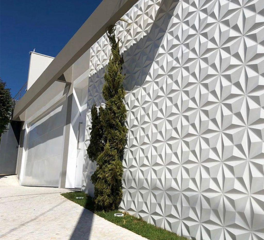 porcelanato 3D para muro
