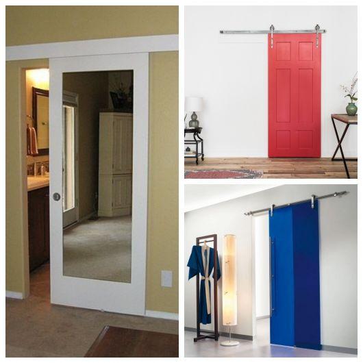 ideias de composiçãoes com portas de correr