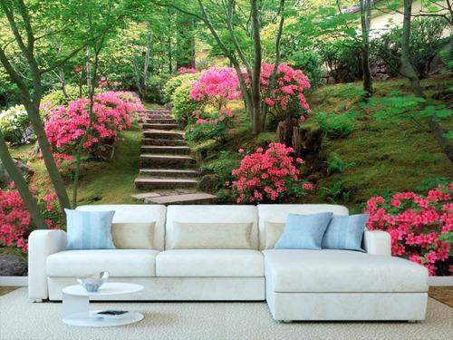 sala externa como jardim