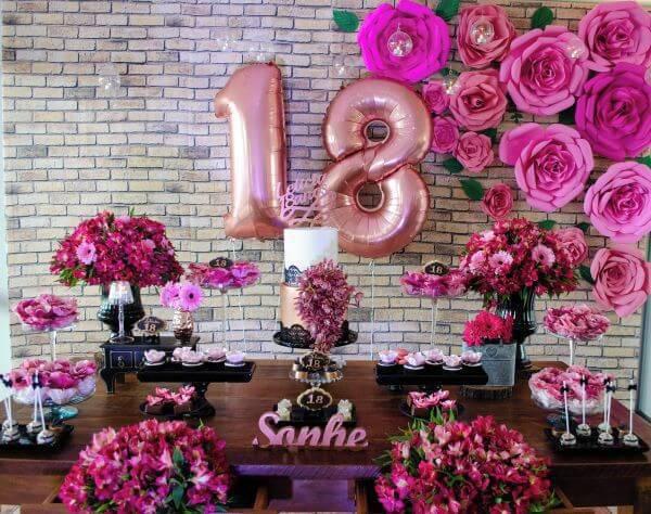aniversarios com rosas