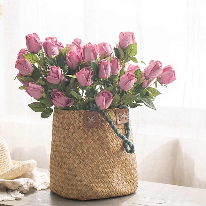 bolsa com rosas