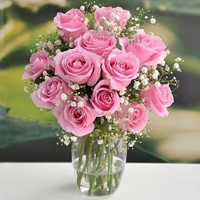 composição com rosas