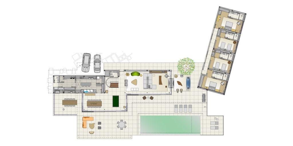 casa térrea com integração