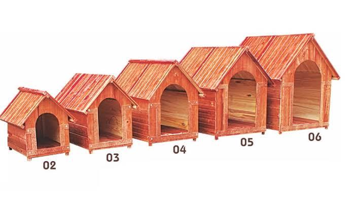 casinha para cachorro de vários tamanhos