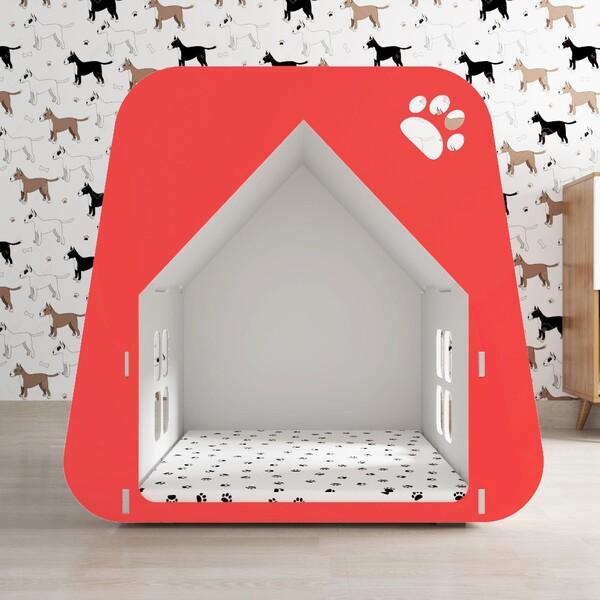 casa moderna de cachorro