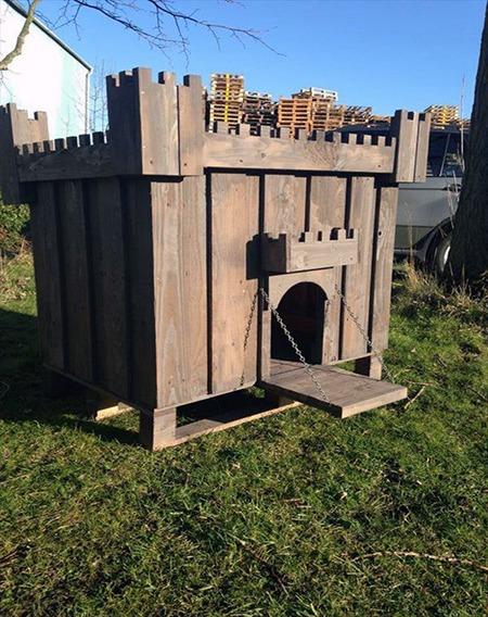 castelo para cachorro