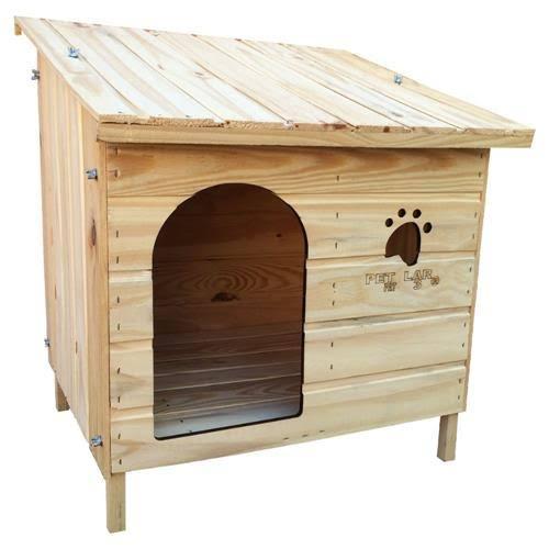 casinha de cachorro de madeira