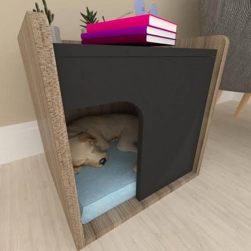 casinha de cachorro como mobiliário
