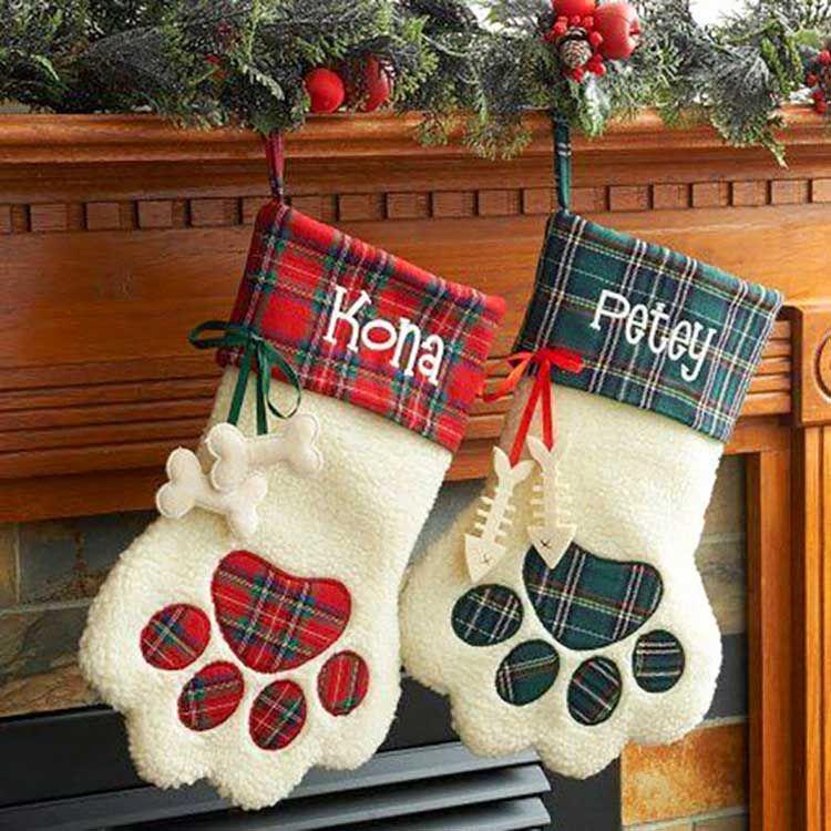 meias natalinas de bichinhos