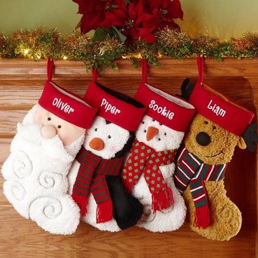 meias de natal personalizadas