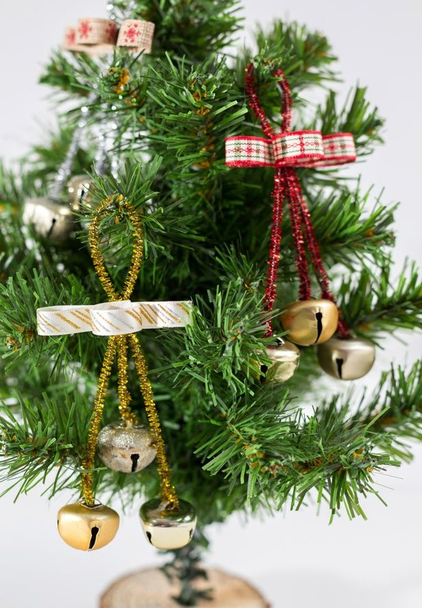 decoração natalina com guizos
