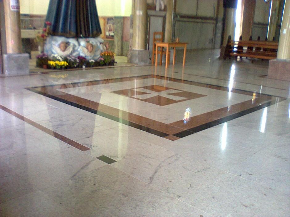 piso com granito