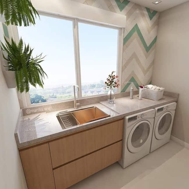 granito branco siena na cozinha