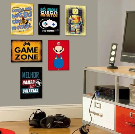 cartaz de games