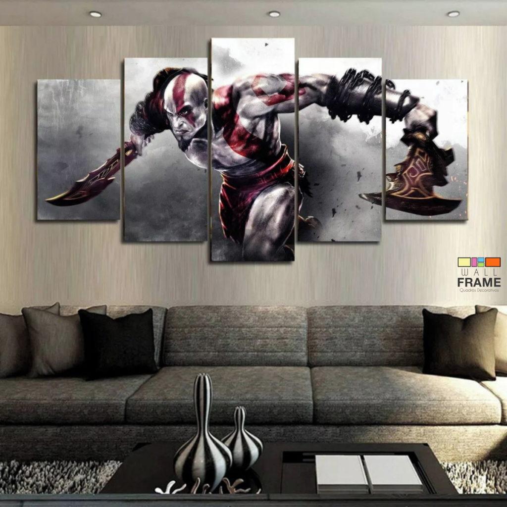 cartaz do jogo God of War