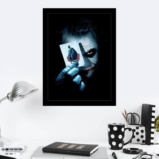 cartaz Coringa e Batman