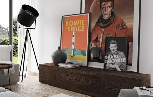 Pôster para imprimir grátis David Bowie