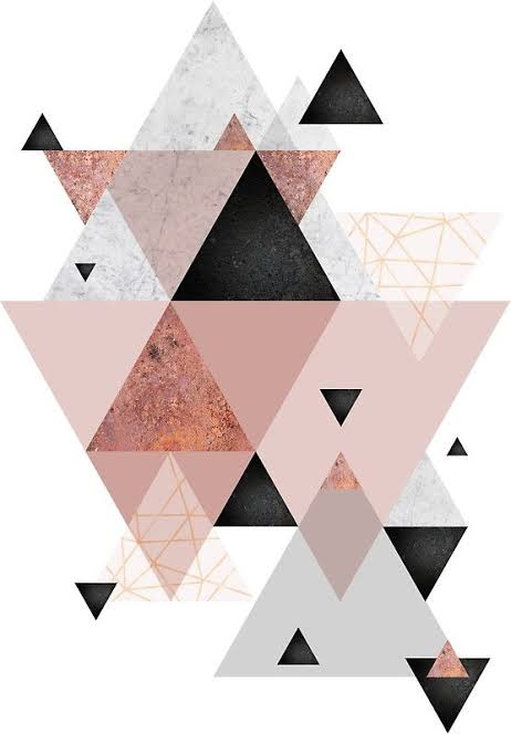 Pôster para imprimir grátis geométrico