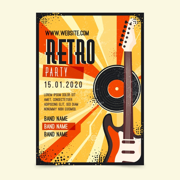 cartaz de festival musical