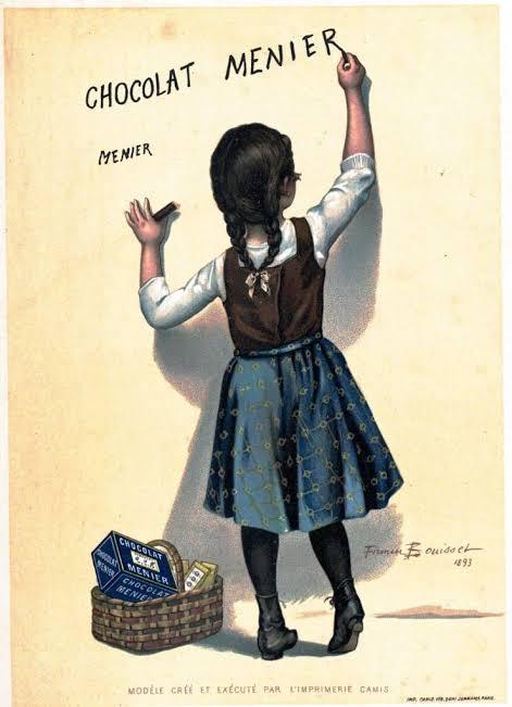 propaganda vintage de chocolate