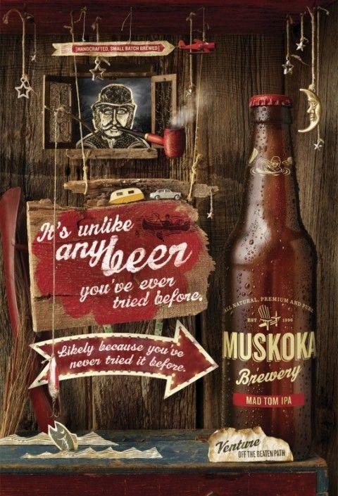 cartaz de cerveja