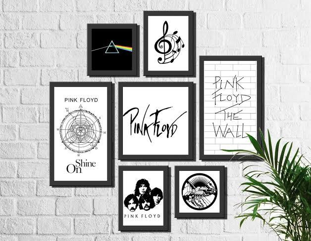 Pôster para imprimir grátis da banda Pink Floyd
