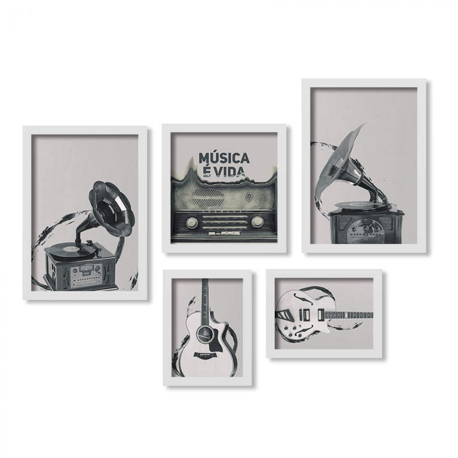 vitrolas e instrumentos