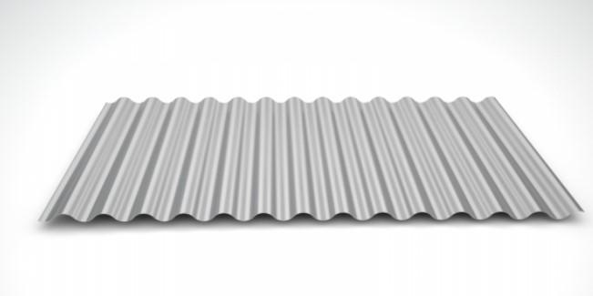 modelo ondulado metálico