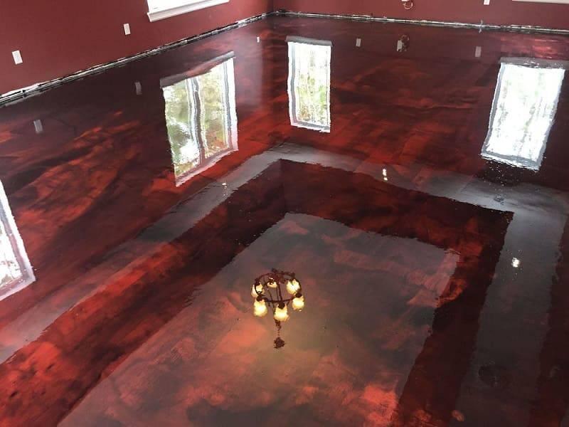 marmore vermelho brilhante