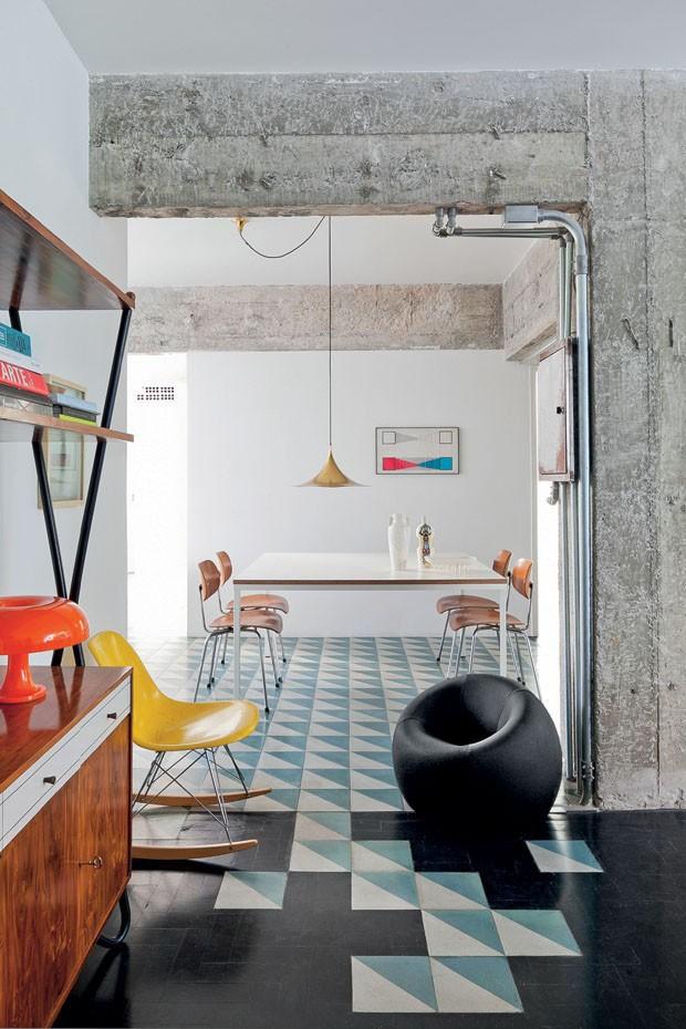 piso revestido com resina