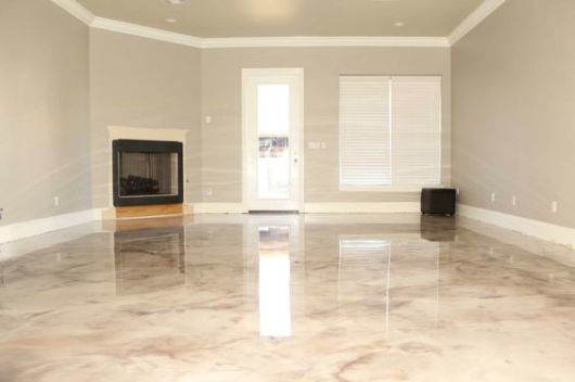 efeito de marmore no piso
