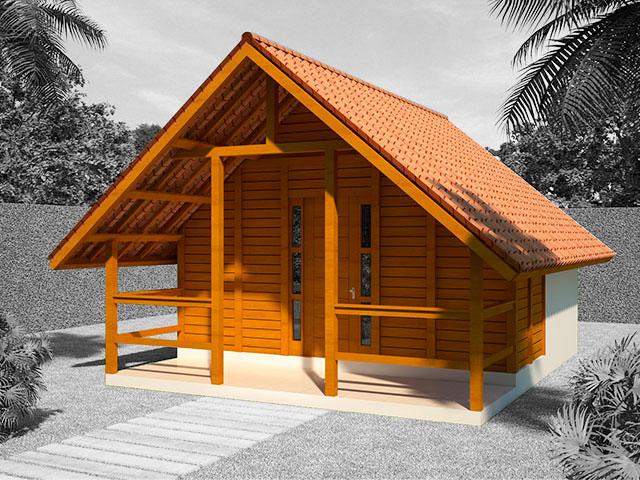 projeto de casa pré-fabricada
