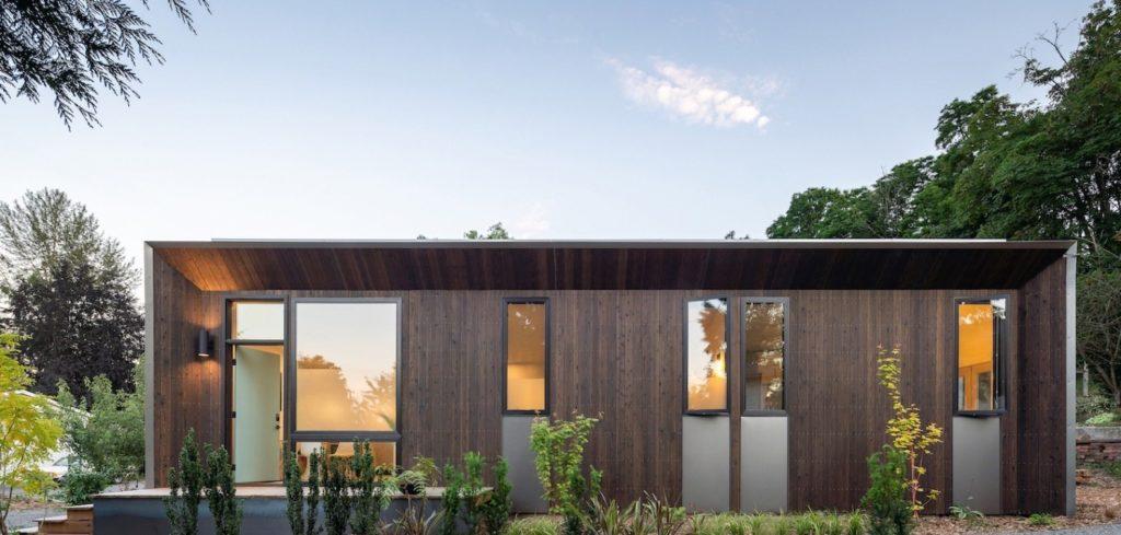 casa pré-fabricada térrea e moderna