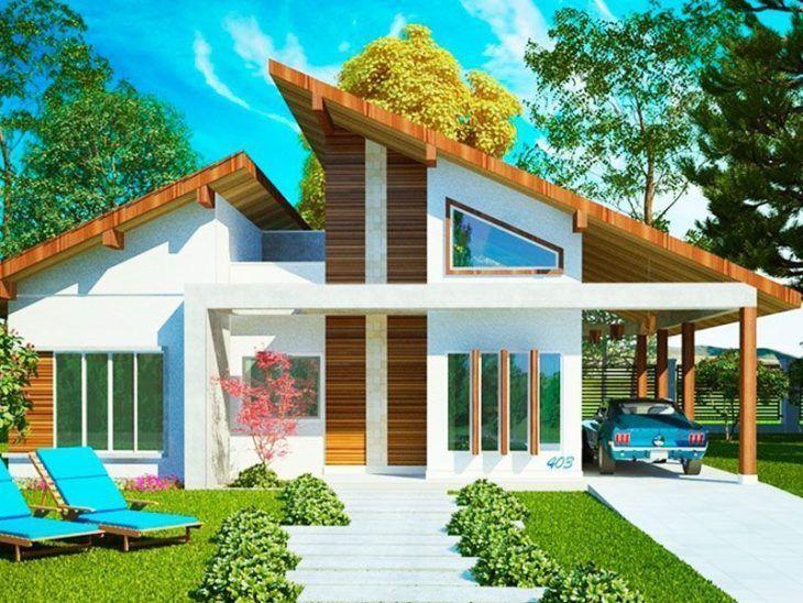 casa estilo americano pré-fabricado