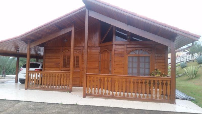casa pré-fabricada toda de madeira