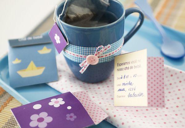 Decoração de chá de bebê