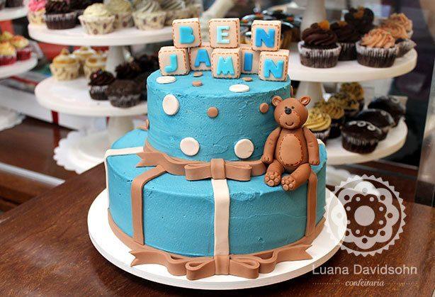 bolo para menino