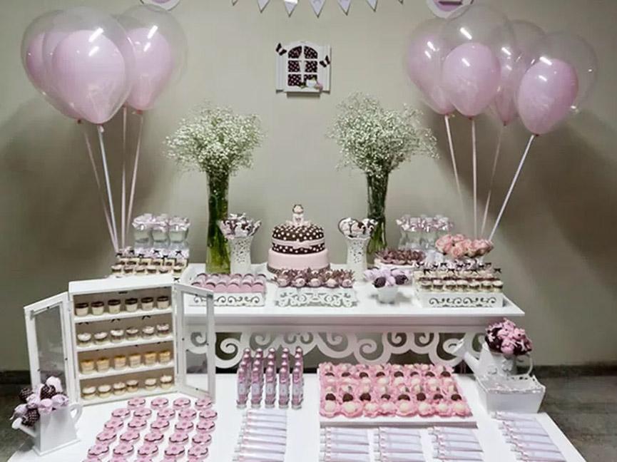 decoração para festa