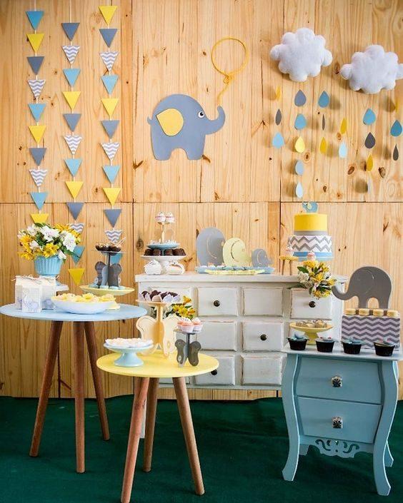 decoração simples para menino
