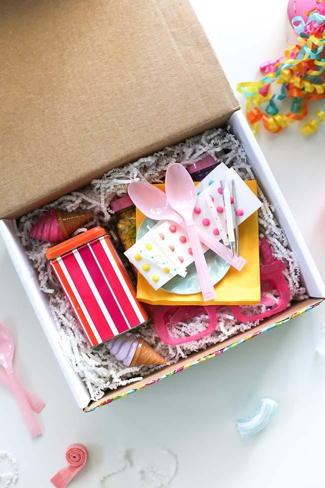 ideias para festa na caixa