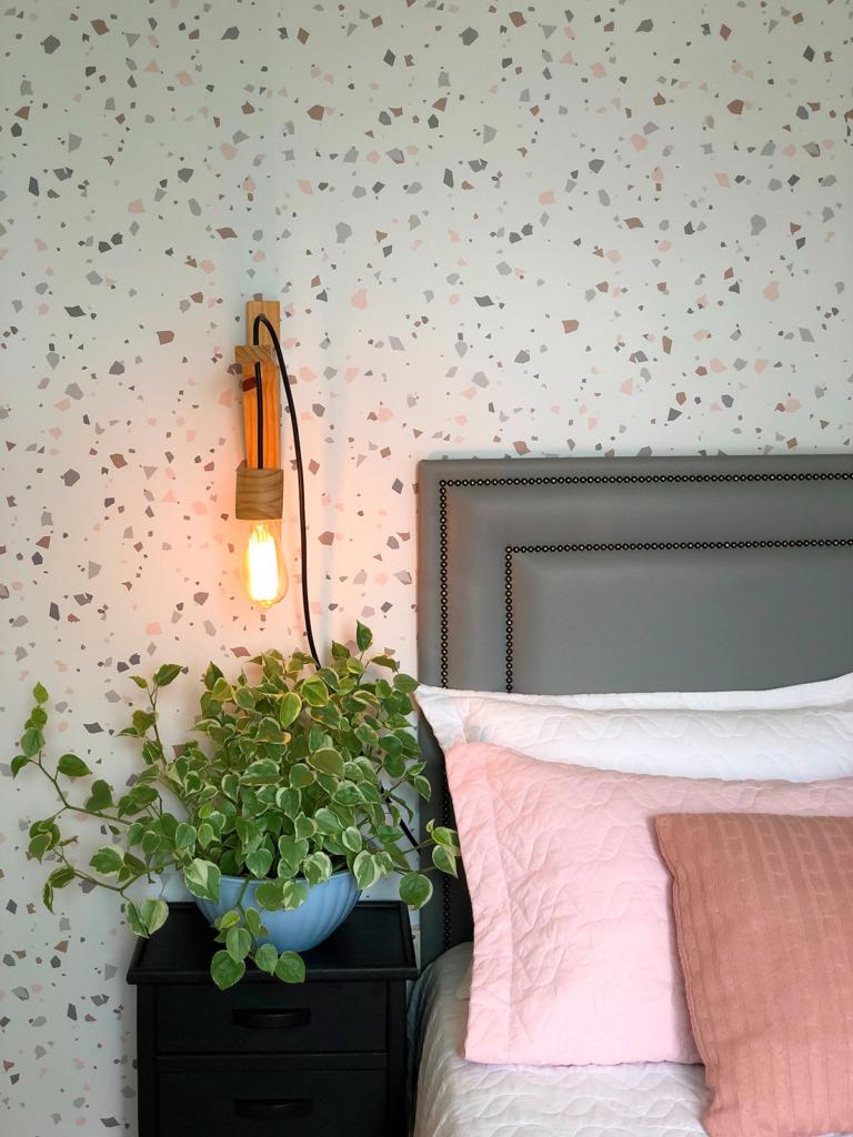 parede do quarto decorada