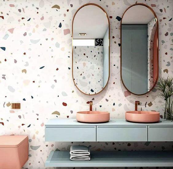 banheiro com granilite