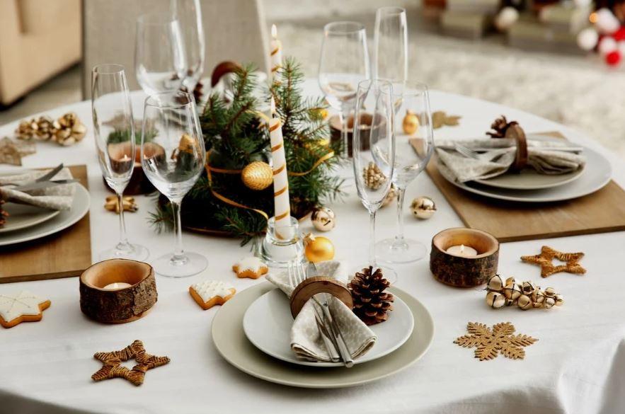 decoração ano novo para família