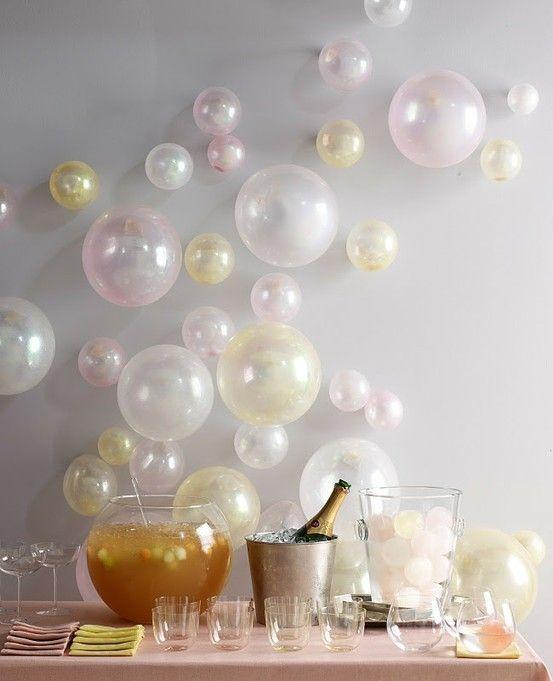 baões como bolhas