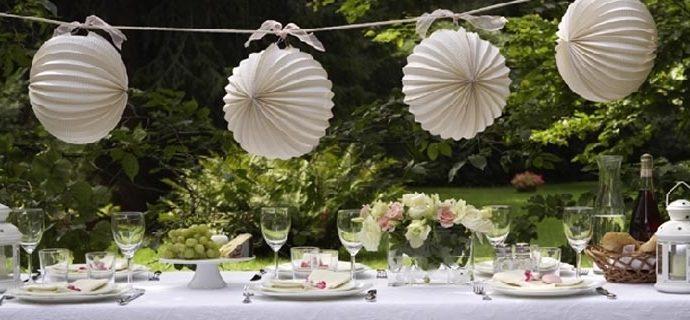 rosas para decorar as mesas